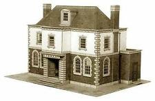 Superquick Police Station Public Library Card Building Model Kit B25 00/HO Gauge