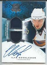 2008-09 The Cup Hockey - Iyla Kovalchuk 09/15- auto & GUJ piece