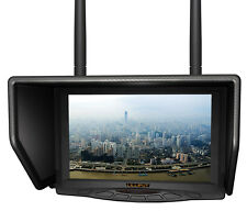 "Lilliput 329/DW 7"" FPV Monitor Dual 5.8GHz Receiver 32 Ch for Phantom Any Drone"