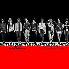 NCT 127-[NCT #127 LIMITLESS] 2nd Mini Album CD+POSTER+Photo Book+Card Sealed