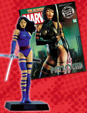 FIGURA DE PLOMO MARVEL FIGURINE COLLECTION 66 PSYLOCKE + REVISTA