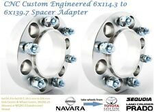 4WD Wheel Spacer Adapters 35 mm 6x114.3 to 6x139.7 Navara 66.1 mm 2PCS