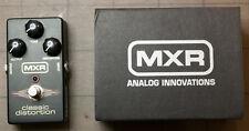 Dunlop MXR Classic Distortion M86 - Distortion Guitar Effect Pedal