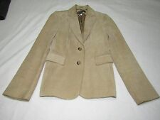 VERY NICE BANANA REPUBLIC LEATHER JACKET SIZE 0 GREAT SHAPE SATIN LINED