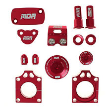 MDR motocross Bling Kit Honda CR 125 250 02 - 04 Red 59030