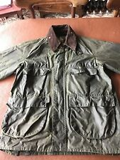 """Barbour Bedale Green Waxed Jacket 38"""" with hood"""