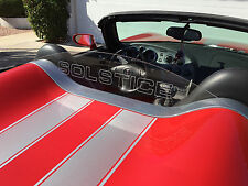 PONTIAC SOLSTICE ENGRAVED WIND BLOCKER WIND DEFLECTOR WINDBLOCKER!