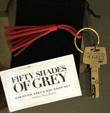 Authentic Fifty Shades Of Grey Red Room Key Jamie Dornan