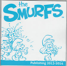 2013-14 THE SMURFS BOOK PUBLISHING GUIDE RARE BABY DREAMY CLUMSY LAZY SMURF