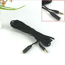 4.9ft 3.5mm Female to Male F/M Headphone Stereo Audio Extension Cable Cord