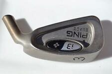 PING i3+ 3 iron HEAD + ONLY SALE UNSHAFTED BLACK BLUE RED WHITE ORANGE GREEN DOT
