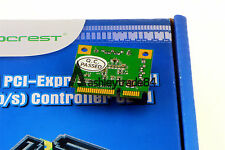 Mini PCI-Express to SATA iii 3.0 2 Port RAID Controller Adapter Card Support 6Gb