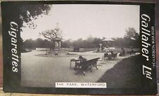 WATERFORD PARK City Pavilion Cigarette Card GALLAHER IRISH VIEWS 347 Ireland