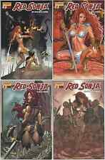 RED SONJA #8 ~ All Four (4) Regular Covers!! NM OR BETTER!!