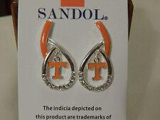 Tennessee Volunteers Enamled Teardrop Earrings