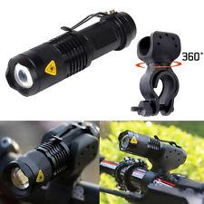 1200lm Q5 lampe de poche LED Frontale Bicyclette Vélo Avant +360 Support