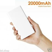 Smart Power Bank 20000mAh External Battery Portable USB Emergency Charger