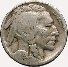 1923 BUFFALO NICKEL 5 Cents of United States of America USA Antique Coin i43595