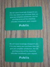 Publix Food Market  Collectible Gift Cards (2), NO VALUE