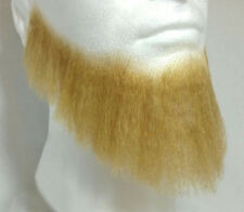 Blonde Human Hair Full Character Professional Costume Beard 2024
