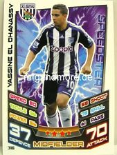 Match Attax 2012/13 Premier League - #316 Yassine El Chanassy - West Bromwich