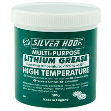 LITHIUM MULTI PURPOSE GREASE - HIGH TEMPERATURE 500G TUB MADE IN ENGLAND
