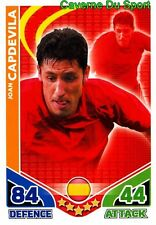 JOAN CAPDEVILA SPAIN BASE CARD CARD MATCH ATTAX ENGLAND 2010 TOPPS