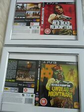 Red dead redemption undead nightmare redemption ps3 sleeves Wall mounted Framed