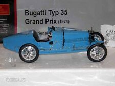 1:18 CMC M-063 LIGHT BLUE 1924 BUGATTI TYP 35 GRAND PRIX DER SERIESIEGER