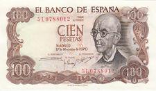 Billet banque ESPAGNE SPAIN ESPANA 100 PTS 1970 neuf new unc 012
