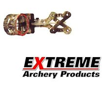 Extreme Archery Rubicon Bow Hunting Sight .019 Lost Camo RH + LH 4-Pin Ship Free