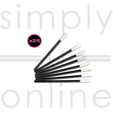 25 X Simply Disposable Lip Brushes For Lipstick, Lipgloss Lip Gloss
