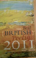 The Best British Poetry 2011 Lumsden Salt Paperback / softback 9781907773044
