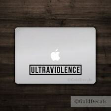 Ultraviolence - Vinyl Decal Mac Apple Laptop Sticker Macbook Clockwork Orange