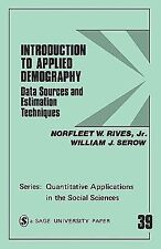 Quantitative Applications in the Social Sciences Ser.: Introduction to...
