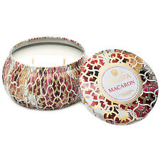 Voluspa Decorative Tin 11oz Macaron 2 Wick Candle