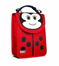 Built NY Big Apple Buddies School Lunch Sack Ladybug Ladybird Child Fun Box Bag