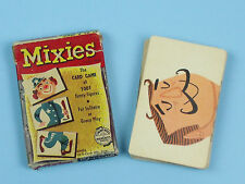 VINTAGE 1956 Ed-U-Cards MIXIES PLAYING CARDS Funny Figures Circus