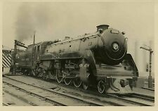 7A906 RP 1958 CANADIAN PACIFIC RAILROAD ENGINE #2822 GLEN MONTREAL PQ