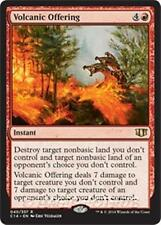 VOLCANIC OFFERING Commander 2014 MTG Red Instant Rare