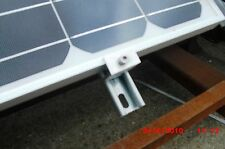 Pack of 4 end  brackets for Uni-Strut to fit Solar Panels PV