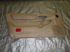 mitsubishi 3000gt / dodge stealth driver side door panel 3rd gen tan insert #1