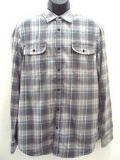 NEW RIP CURL MEN BLEVINS L/S FLANNEL SHIRT size M MEDIUM FF85 RETAIL $54.5