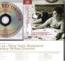 BARNEY WILEN New York Romance JAPAN DSD SACD TKGV-1 w/OBI+INSERT G/F Digipack