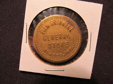 Elwood, Indiana Trade Token - Firm Grinnell Elwood, IN Trade Coin -Good For 50 C