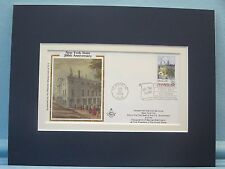 The 200th Anniversary of New York State  & First Day Cover of New York Stamp