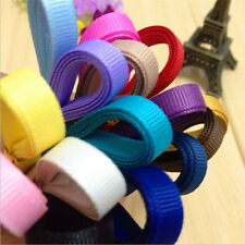 New! Solid Grosgrain Ribbon lots 10 yds  (6 mm) hair bows ribbon CECA