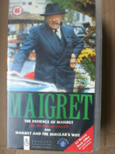 MAIGRET - PATIENCE OF MAIGRET / BURGLARS WIFE -   RARE AND DELETED
