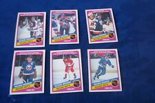 6-1984-85 O-PEE-CHEE RECORD BREAKER WITH WAYNE GRETZKY
