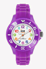 ICE WATCH MINI Kinderuhr MN.PE.M.S.12 Silikon Lila neu